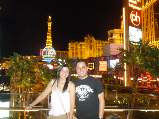 At the Vegas Strip
