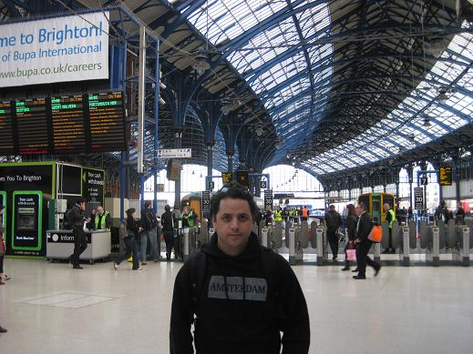 Sergio Felix At Brighton Train Central