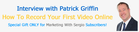 Patrick Griffin Recording Your First V</a srcset=