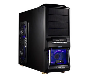 Black Gaming ATX Monster Tower