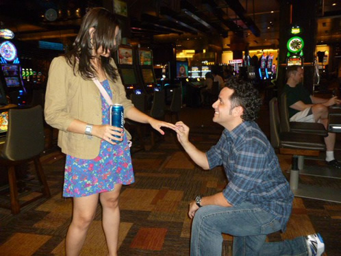 Sergio Felix Proposal In Vegas