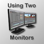 using two monitors